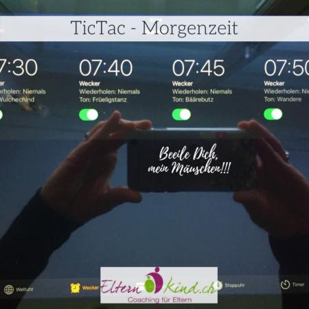 TicTac Stress am Morgen
